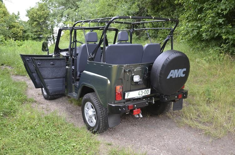 uaz hunter soft top made in russia. Black Bedroom Furniture Sets. Home Design Ideas