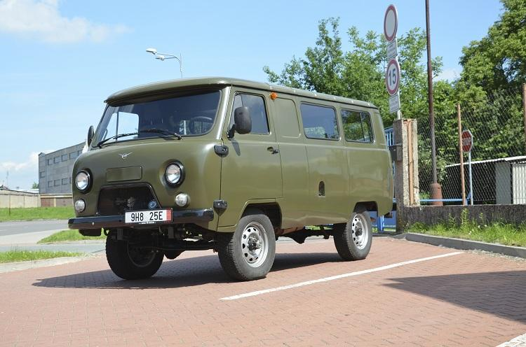 Uaz Information Made In Russia