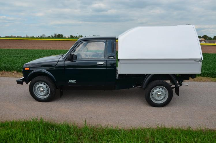 Lada Niva Pick Up Singlecab Made In Russia