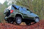 Test of UAZ Patriot vs. Nissan Navara